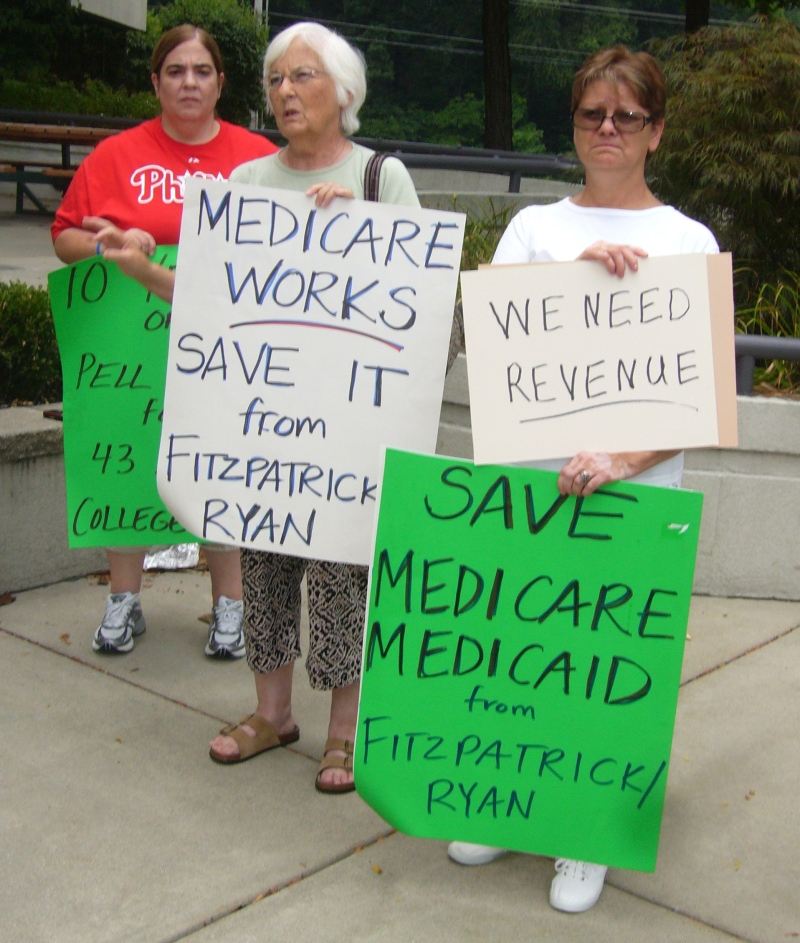 Save Medicare from Fitzpatrick/Ryan Budget